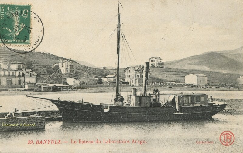 581 Le Bateau du Laboratoire Arago 1911