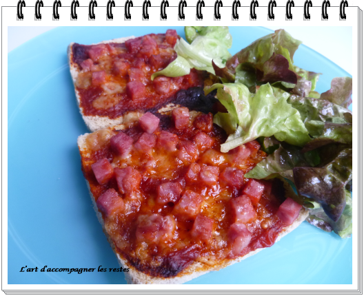 Toasts pizza2