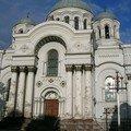 La basilique de Kaunas ! On approche de la mer