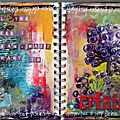 Art journal patouille : create