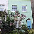 Maisons colorées à londres
