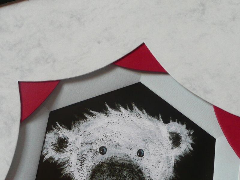 biseau à la française héxagonal - détails