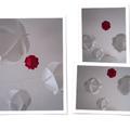 Boule de noël en papier : une constellation à suspendre