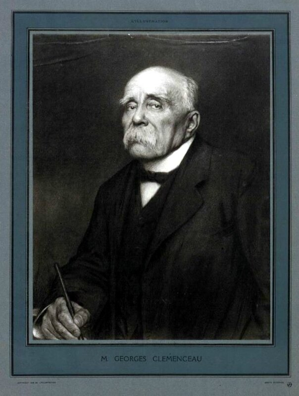 Portrait Clemenceau