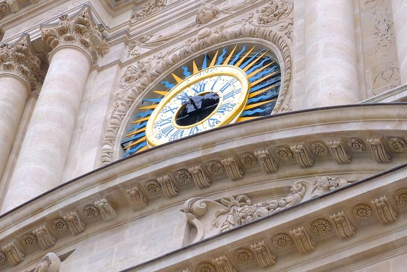 paris st paul horloge
