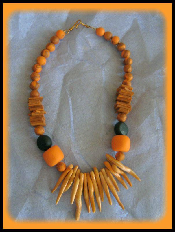 inspiré d'un collier de Benita loca