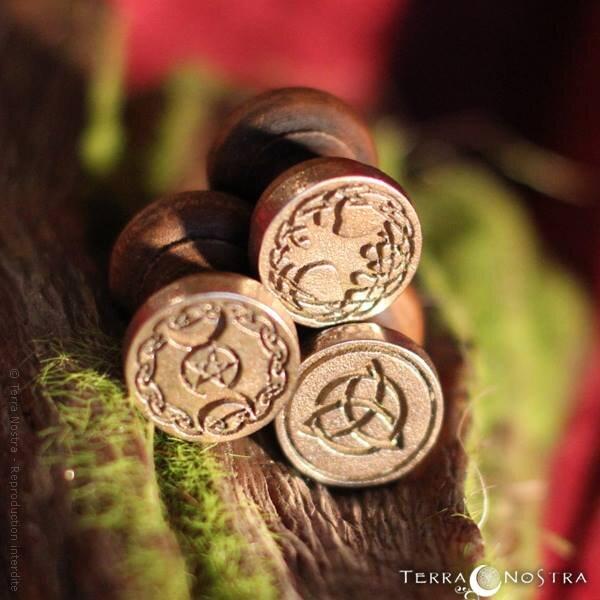 Cachets de cire païens et celtiques