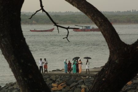 285_Indians_in_the_Rain___Beach_Road___Fort_Kochi