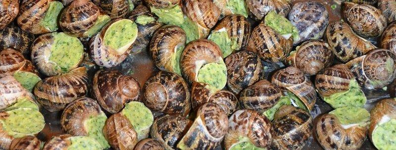 Escargots au beurre