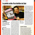 Une page dans Le Point