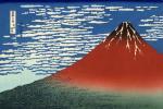 Le mont Fuji - Hokusai
