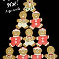 Biscuits gingerbread Joyeux Noël