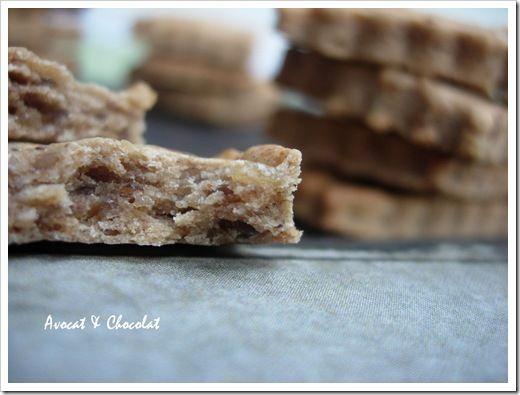 Biscuits à la confiture de lait amande-noisettes