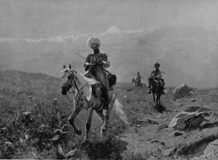 Riders-of-the-Caucasus