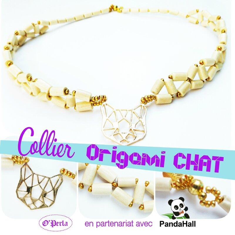 montage collier chatECRU