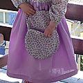 Robe simplicity 7112 3ans fleurs violettes 003