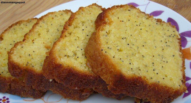 Cake orange citron recette