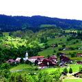 Le Beau village de Manigod