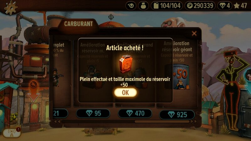 TRIALS FRONTIER - Carburant +50