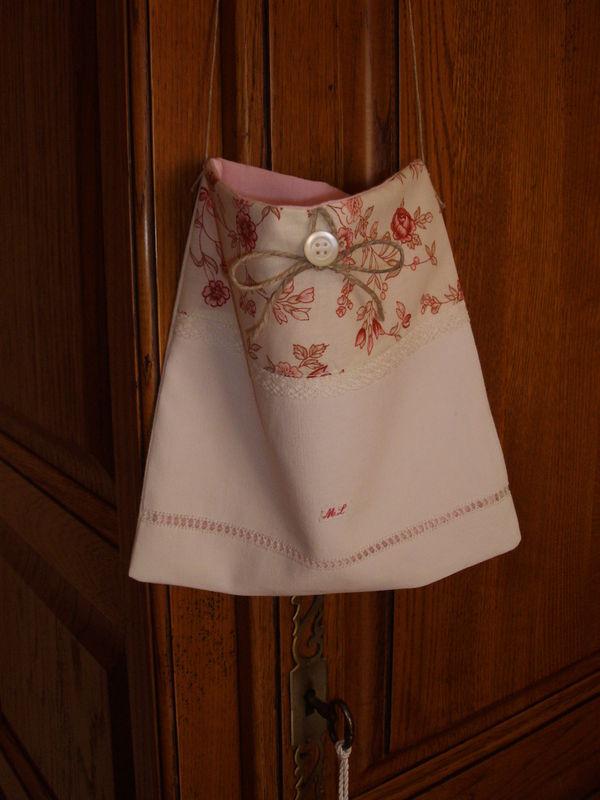 sac drap ancien