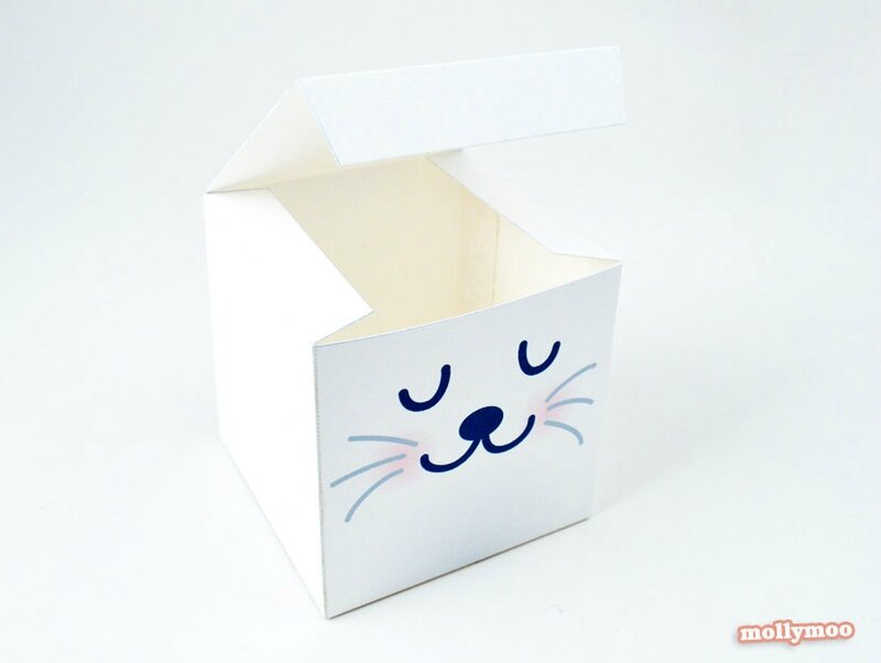 boites lapin pour paques à faire soi meme