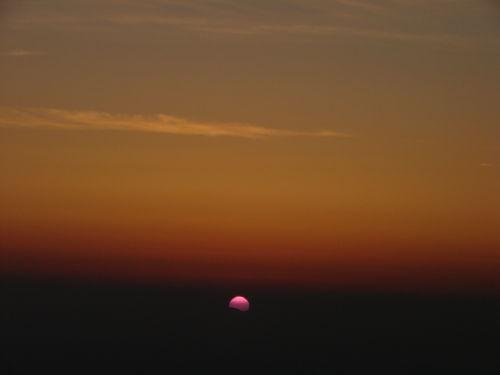2008 05 23 Le levé du soleil depuis le Mont Mézenc (4)