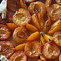 Tarte aux abricots à quatre mains