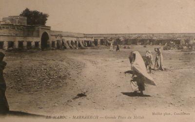 1912grande_place_du_MellahMaillet