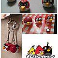 Porte clé angry bird