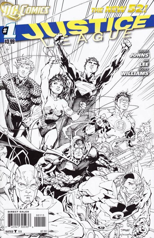 new 52 justice league 01 fifth print