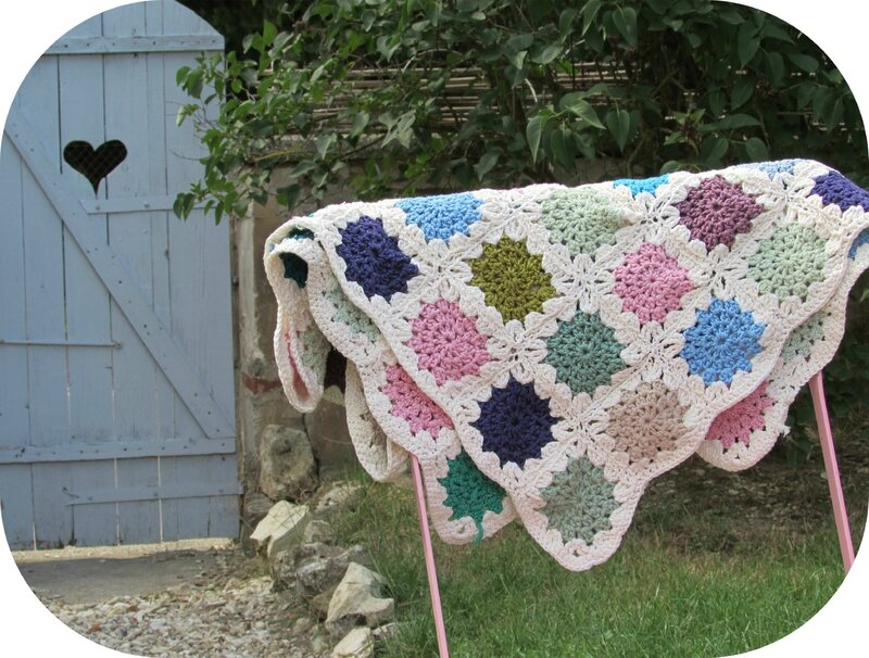 crochet granny couverture (1)