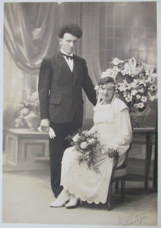 1935 M à Briec Hervé Q et Marie Louise ROSPARS