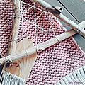 bannière tricot tricotin laine nuage bois flotté 2