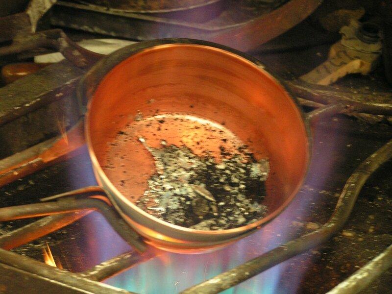 2015 05 22 - Mauviel (57) - étamage du cuivre
