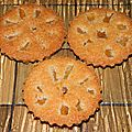 Petits gâteaux coco ananas (blancs d'oeufs)