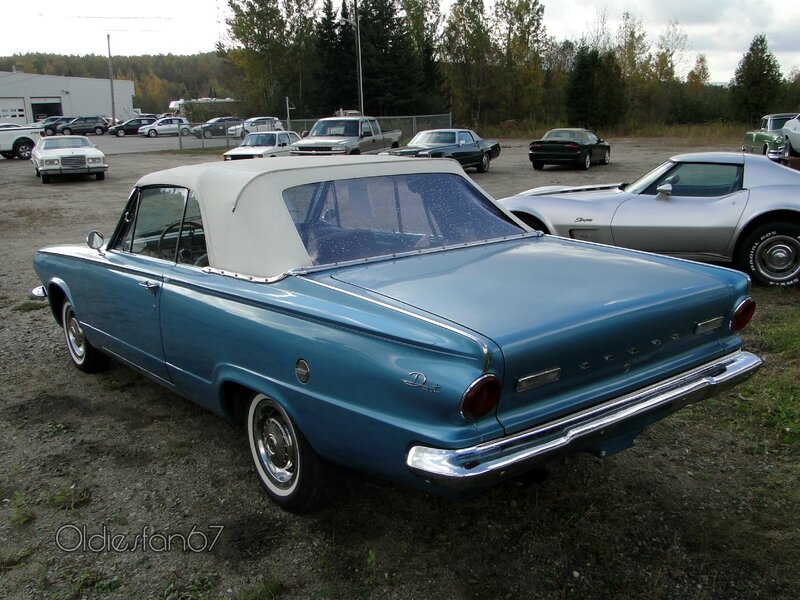 dodge dart 270 convertible 1963 b