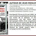 Autour de jean moulin : conférence de françois berriot