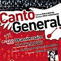 Canto general, neruda/theodorakis, zénith d'auvergne, 2 juin 2012