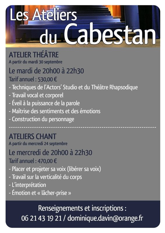Annonce ateliers 2014-2015 R
