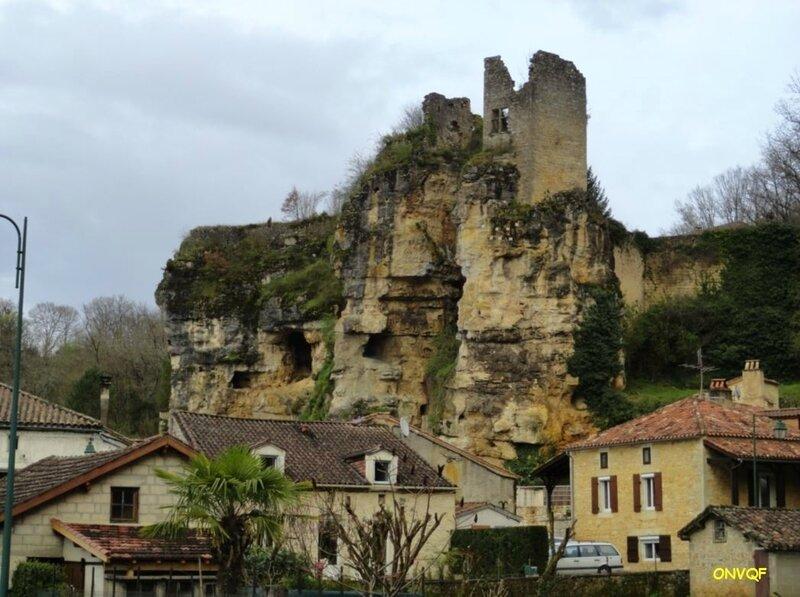 Cuzorn ruines du château