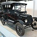 FORD Model T torpédo 1922 Bruxelles Autoworld (1)