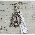 Bijou & accessoire: bijou de sac et broche romantique!
