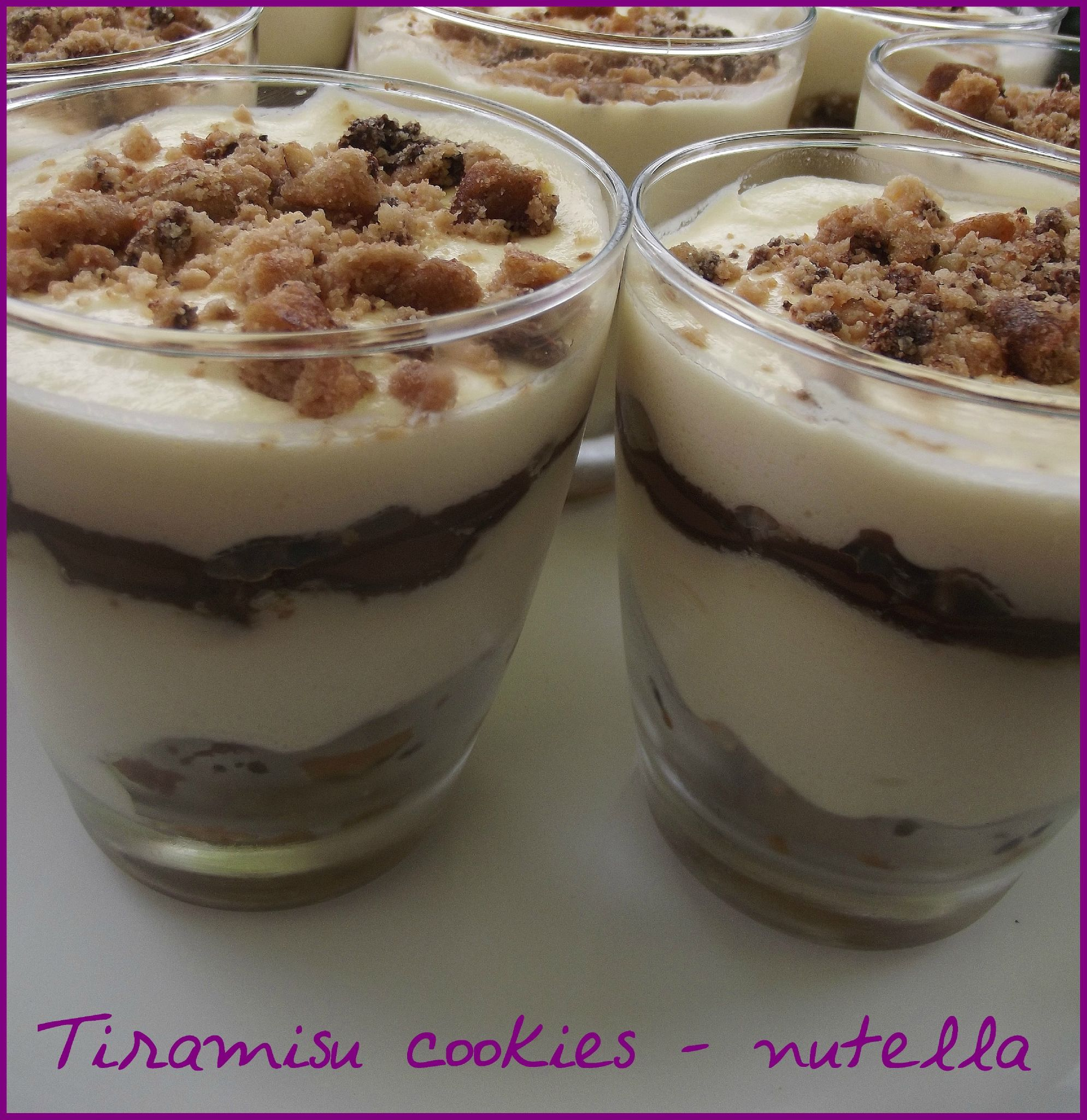 recette tiramisu nutella cookies recettes de tiramisu. Black Bedroom Furniture Sets. Home Design Ideas