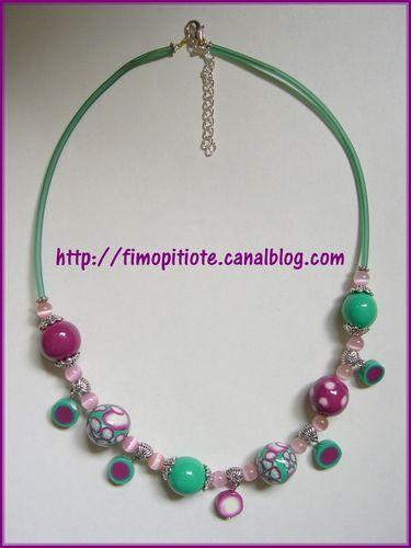 collier bijoux bracelet pate fimo (134)
