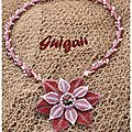Collier Symply Seeds and Beaded Dahlia2