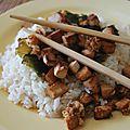 Tofu pané aux algues wakamé