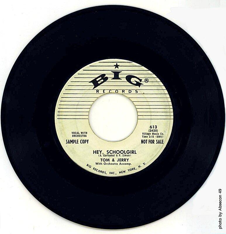 1957-45 tours de Tom et Jerry- document Absecon49-Big613-King5167