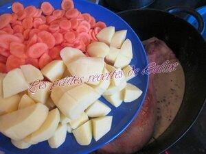 Cuisse de dinde à la crème et ses légumes26