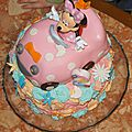 Le gâteau minnie d'alicia