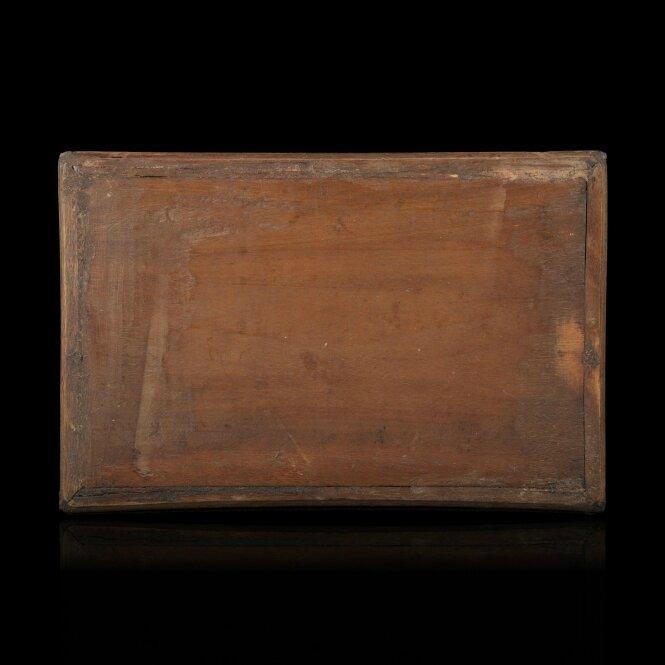 petit plateau rectangulaire en bois exotique tonkin d but du xxe si cle alain r truong. Black Bedroom Furniture Sets. Home Design Ideas
